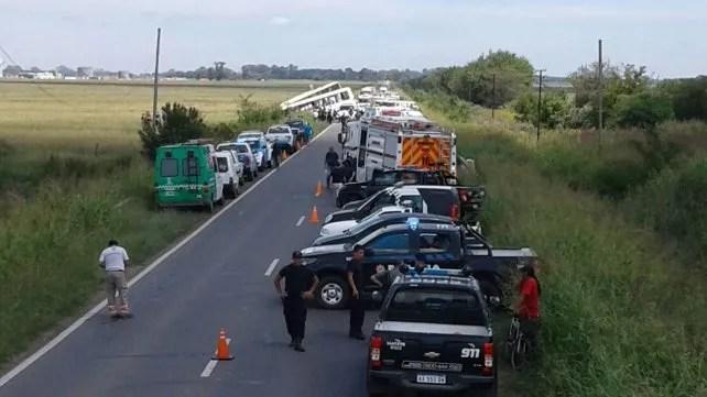 Ruta 33: doce muertos y 34 heridos por el choque frontal de dos colectivos de Monticas - RosarioN.com - Informate Antes