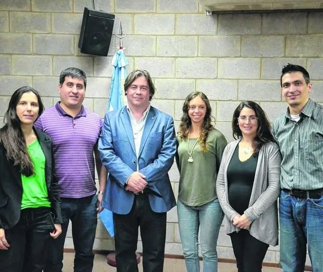 destacados. El plantel liderado por los especialistas Alejandro Vila y Leticia Llarull.