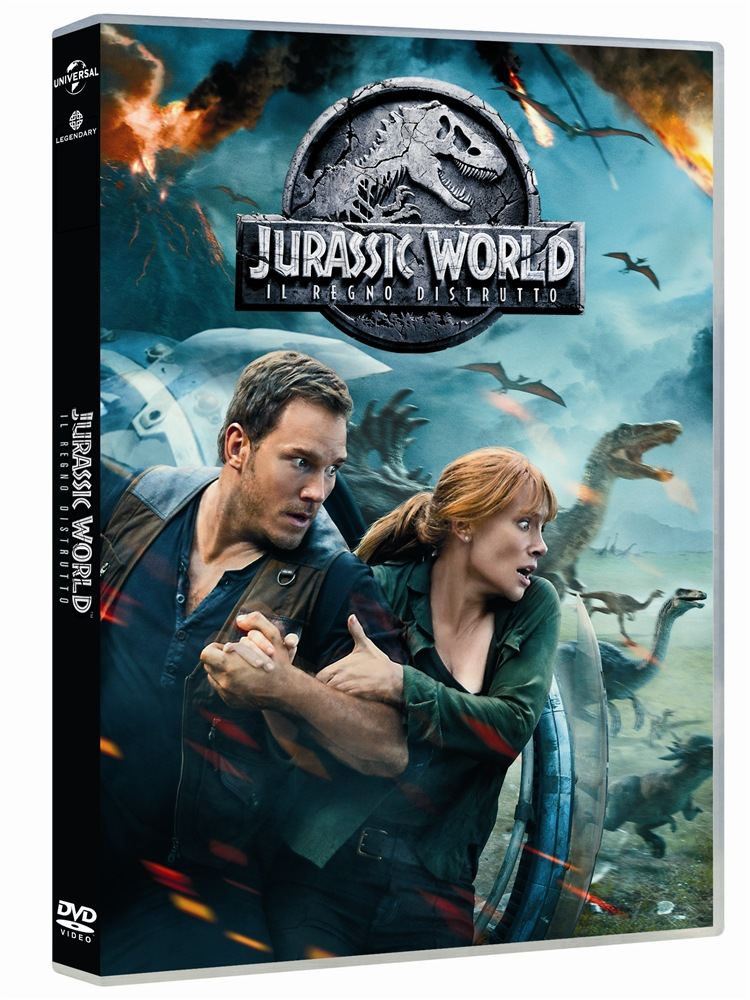 Film Jurassic World Il Regno Distrutto DVD film  LaFeltrinelli