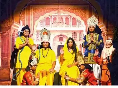 Image result for ramleela images lucknow
