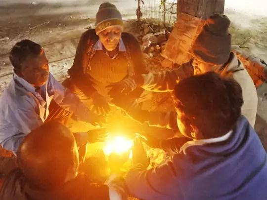 faridabad cold: फरीदाबाद: धुंध-हवा और बारिश मिलकर लाएंगे कड़ाके की ठंड -  cold wind and rain will bring together cold   Navbharat Times