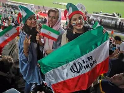 pic - iranian women will see match: ईरान में महिलाओं को मिली 40 साल बाद आजादी, स्टेडियम में बैठकर देख सकेंगी मैच - iran finally opens stadiums to women from today  Times