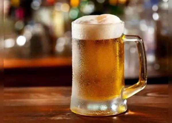 बियर में 90 प्रतिशत पानी होता है