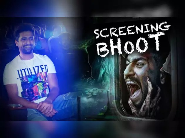 Celebs visited 'Bhoot' in Mumbai late evening, watch video