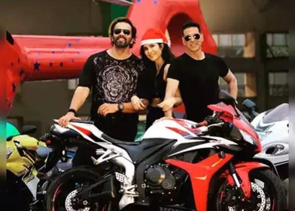 Katrina Kaif with Akshay
