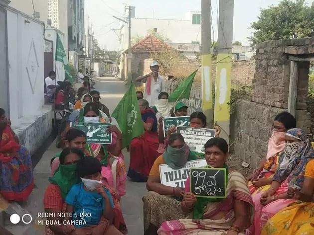 Amaravati Farmers Protest Reaches 100Day