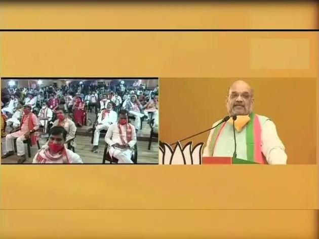 बिहार में अमित शाह की वर्चुअल रैली की 10 बड़ी बातें
