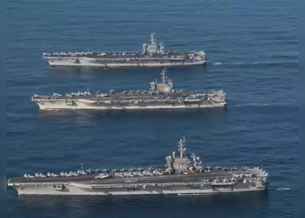 ये हैं 3 अमेरिकी एयरक्राफ्ट कैरियर