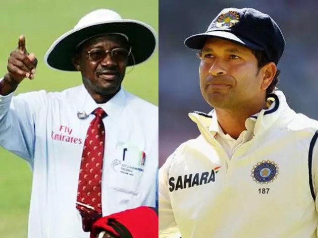 Sachin was given out wrong twice, umpire Buckner now admitted mistake