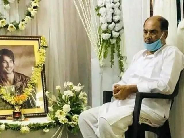 sushant Singh Rajput father Krishna Kumar heartbreaking pic ...