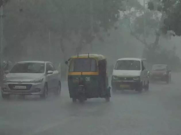 दिल्ली में होने लगी मॉनसून वाली बारिश। (फाइल फोटो)