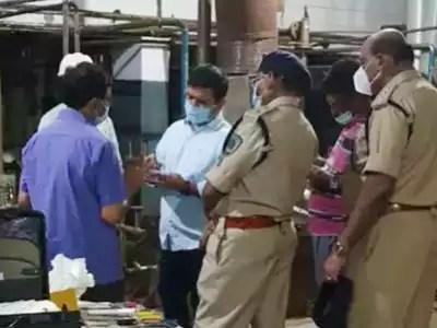 घटनास्थल पर पहुंचे अधिकारी