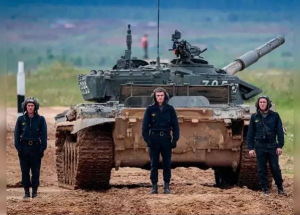 यूक्रेन ने भी किया युद्धाभ्यास का ऐलान