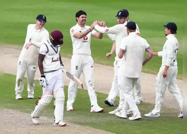 Manchester Test: Windies on backfoot on second day