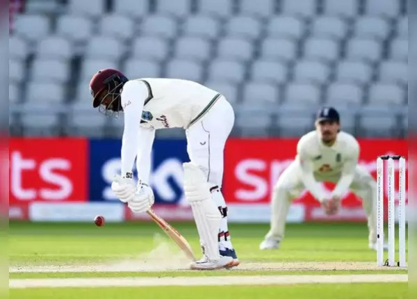 Manchester Test: West Indies in trouble