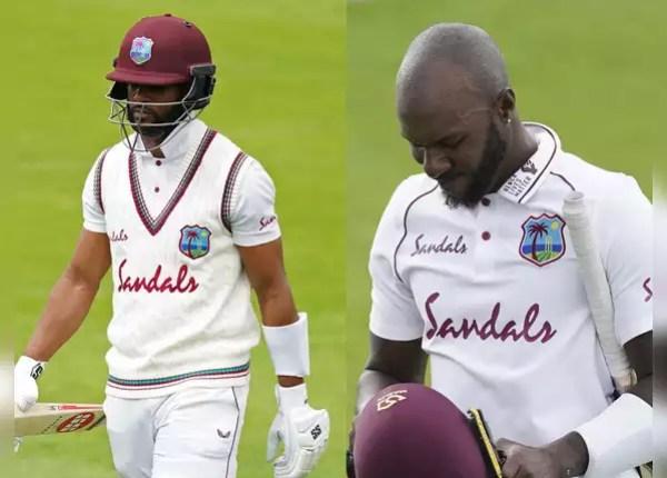 The batsmen of the Windies team did not run again