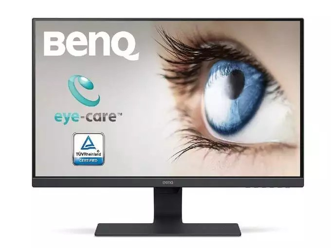 BenQ 21.5-inch LED Backlit Computer Monitor, Full HD, Borderless, IPS Monitor, Brightness Intelligence Technology, Adaptive Eye Care Technology, Dual HDMI...