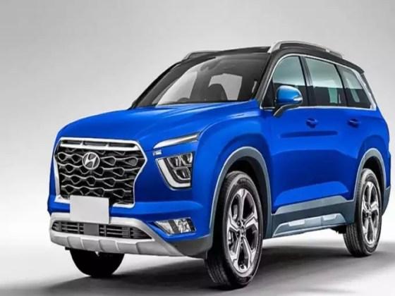 Hyundai Creta 7 seater SUV variants color features