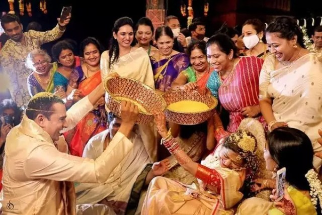 Sunitha Ram Wedding