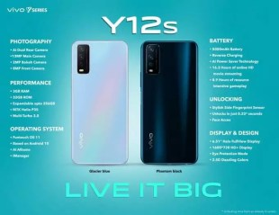 Vivo Y12s launch: Vivo Y12s launch in India, price only 9990 taka – vivo y12s launched in India at rs 9990, check all specs here