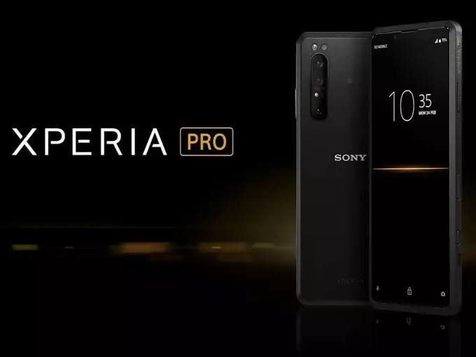Sony Xperia Pro Launched Price Specifications 1