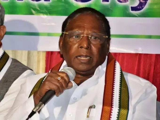 पुदुचेरी: राहुल के दौरे से पहले एक और कांग्रेस विधायक ने दिया इस्तीफा, सरकार पर संकट गहराया