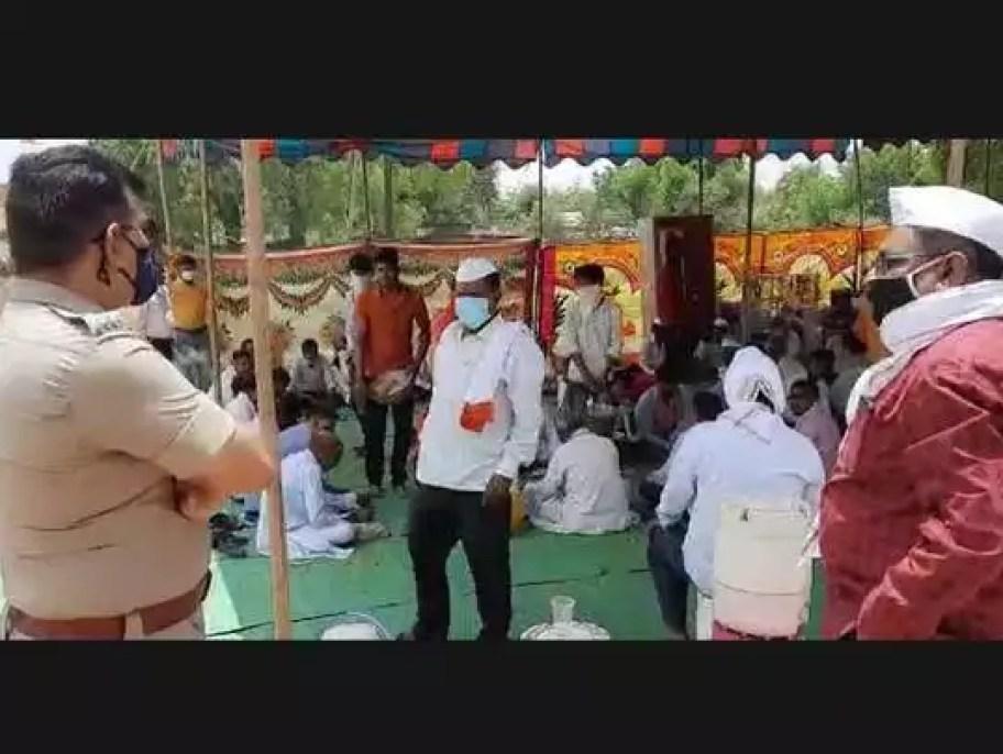 Buldhana : लग्न समारंभात जेव्हा अप्पर पोलीस अधीक्षक पोहचतात...