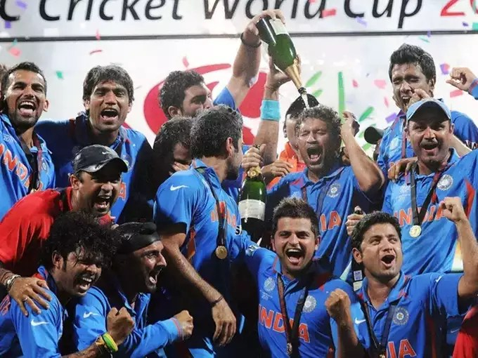 2011 world cup team india
