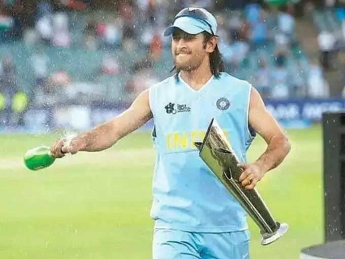 ms dhoni 2007 word cup