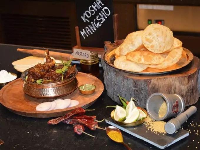 Kosha Mangsho Dish