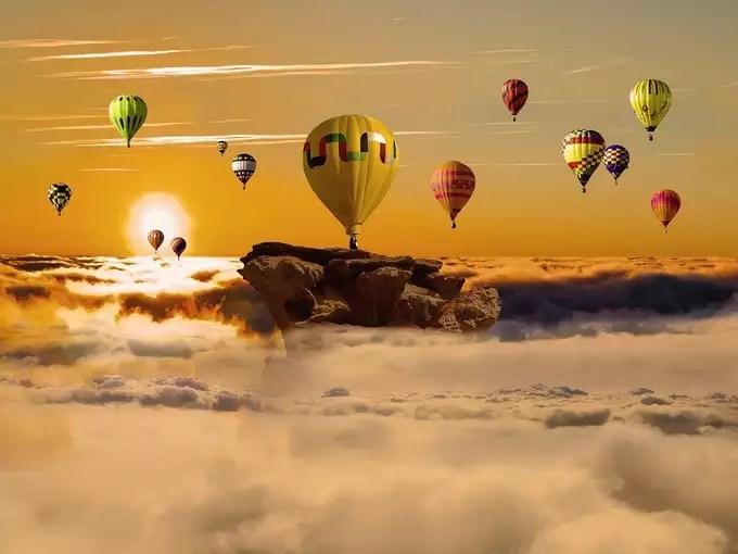 Hot Air Balloon in Bangalore