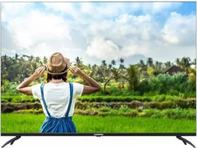 Compaq Flagship HEX 65 QLED Smart TV Android 9 Price India 1