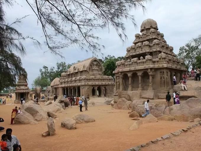 Mahabalipuram Temple, Tamil Nadu