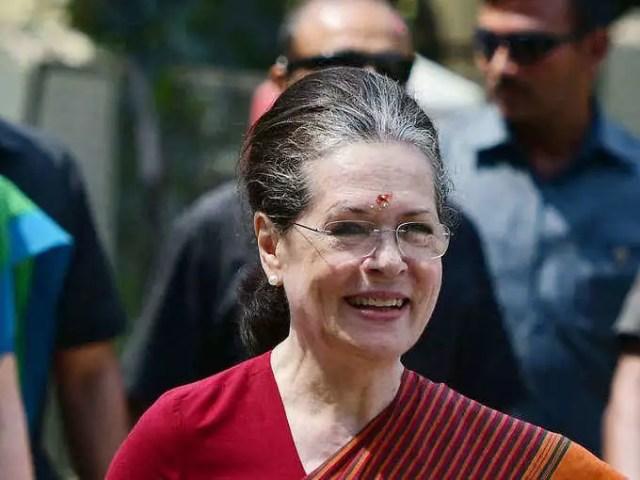 Congress President Sonia Gandhi(File Photo)