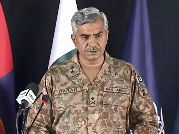 Major General Babar Iftikhar DG ISPR