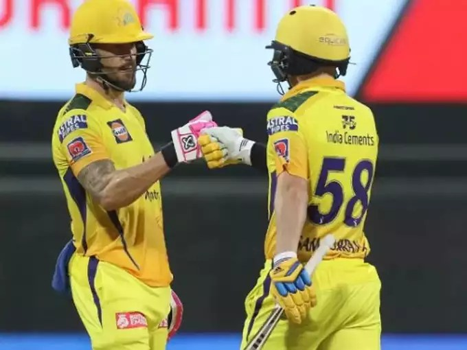 Dhoni's team CSK's troubles are not decreasing, Faf du Plessis and Sam Curran may be out of the first match!