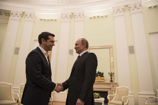 Επικοινωνία Πούτιν-Τσίπρα
