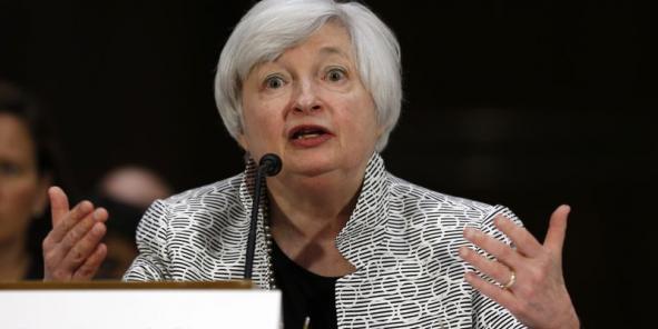 """""""Le marché du travail ne s'est pas encore tout-à-fait remis"""", a dit Janet Yellen, mercredi 17 septembre."""