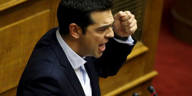 Que cherche le premier ministre grec avec sa proposition ?