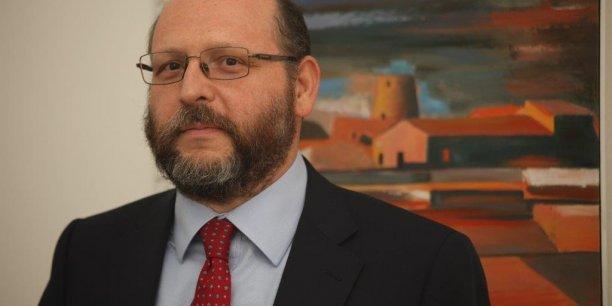 """Vladimir Giacchè est économiste et auteur du """"Second Anschluss""""."""