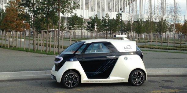 Les Franais font du salon ITS une vitrine de la voiture autonome tricolore