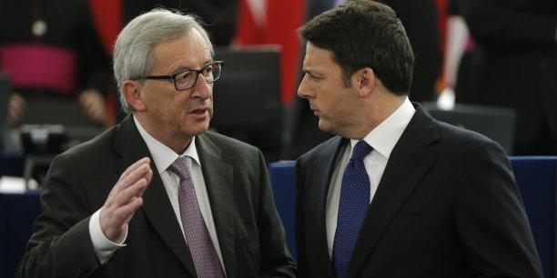 Le président du conseil italien a des rapports tendus avec Bruxelles.