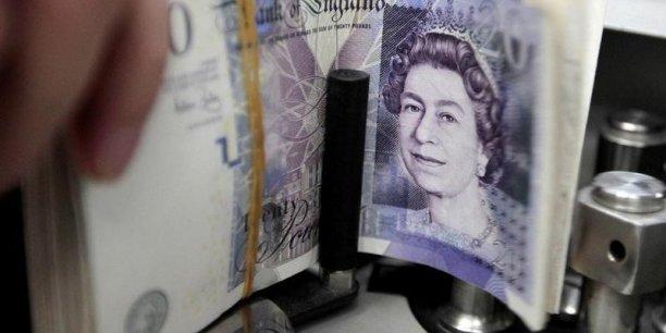 La livre sterling baisse, mais l'économie britannique résiste bien.