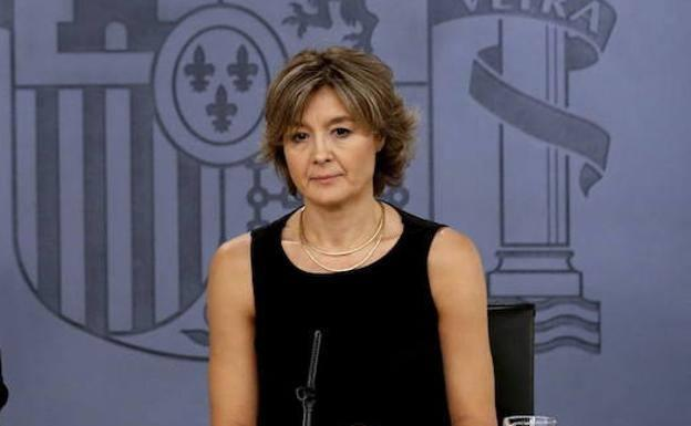 The former Minister of Agriculture and the Environment, Isabel García Tejerina, in a file image.
