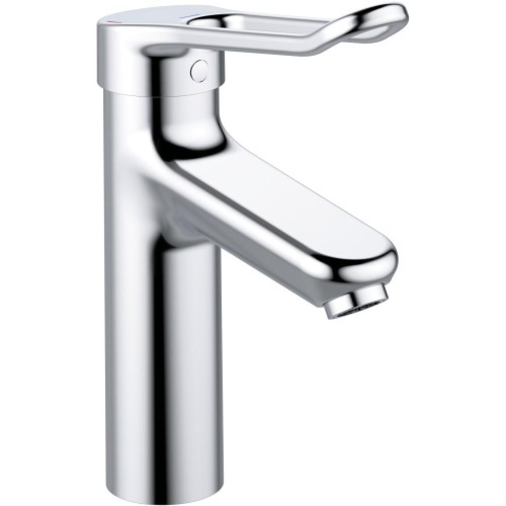 mitigeur de lavabo monotrou haut deux finitions okyris pro