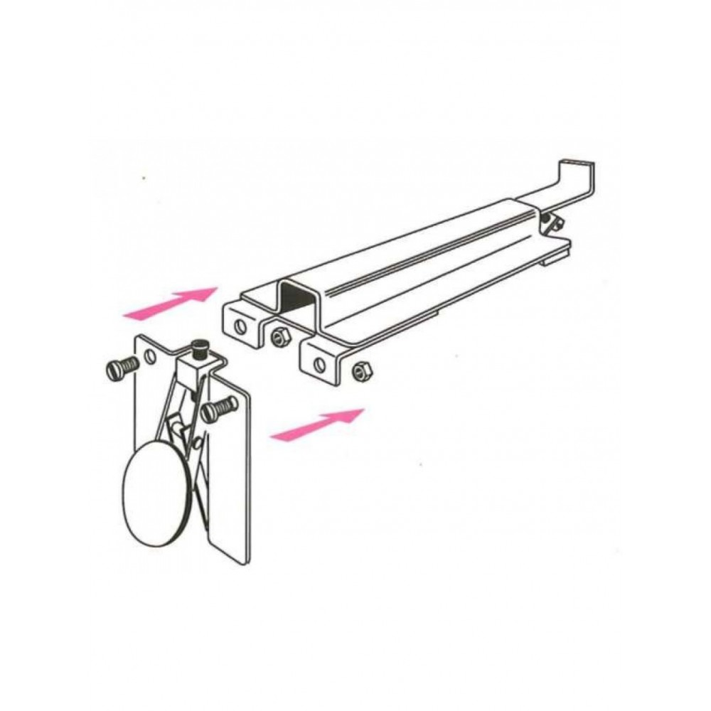 supports de tablette de radiateur la paire bricozor