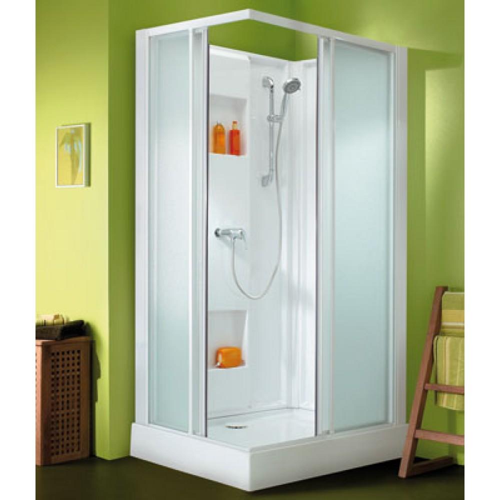cabine de douche 100 x 80 cm acces d