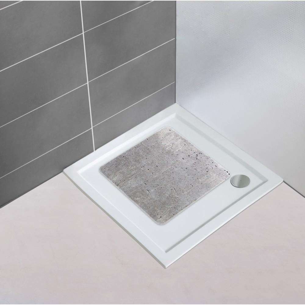 tapis antiderapant concrete bain ou douche