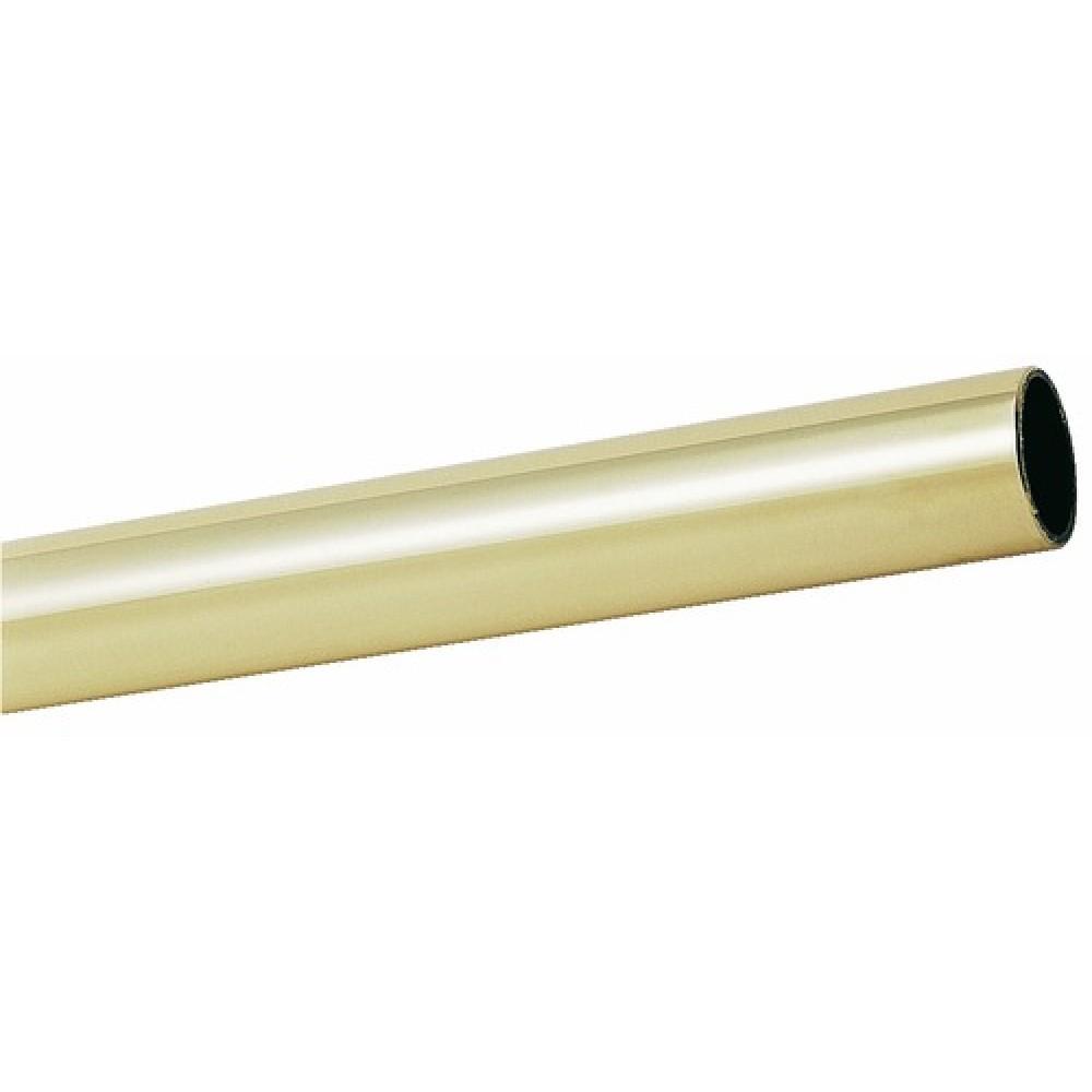 tube de 30 mm pour support d echelle de bibliotheque cuivrinox sur bricozor