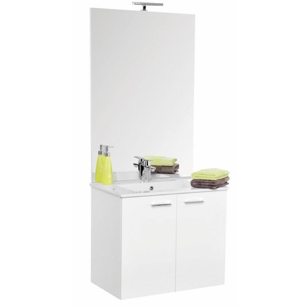 meuble de salle de bains complet largeur 60 cm angelo neova